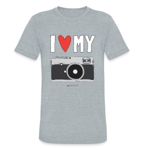 Camera Love - Film - Unisex Tri-Blend T-Shirt by American Apparel