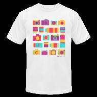 T-Shirts ~ Men's T-Shirt by American Apparel ~ Cameras & Lenses