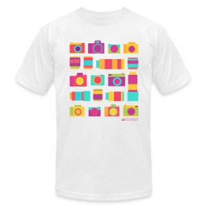 Cameras & Lenses - Men's T-Shirt by American Apparel