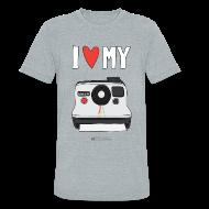 T-Shirts ~ Unisex Tri-Blend T-Shirt ~ Camera Love - Instant