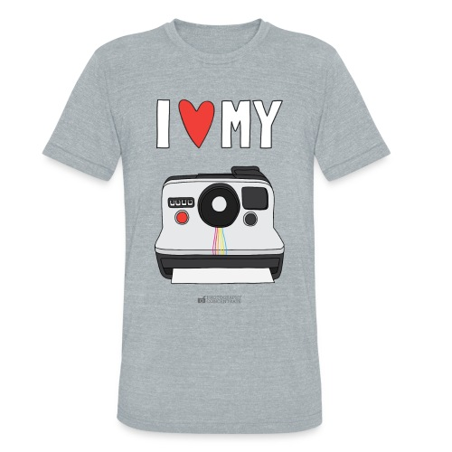 Camera Love - Instant - Unisex Tri-Blend T-Shirt