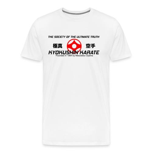 Men's Premium T-Shirt - Shinkyokushin,Masutatsu Oyama,Kyokushinkaikan,Kyokushinkai,Kyokushin Karate,Kyokushin