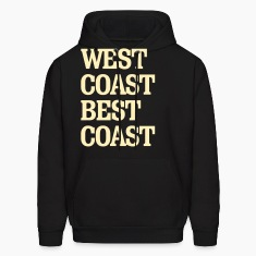 West Coast Best Coast Hoodies