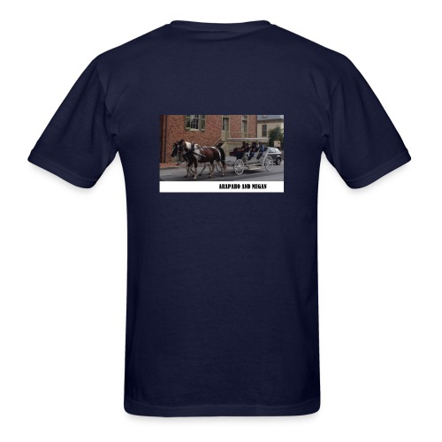 Arapaho and Megan T-shirt - Men's T-Shirt