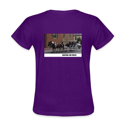 Arapaho and Megan Ladies T - Women's T-Shirt