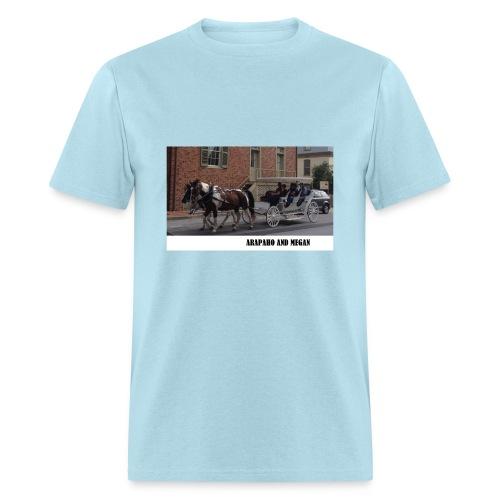 Rappy and Meganl/Manure Happens - Men's T-Shirt