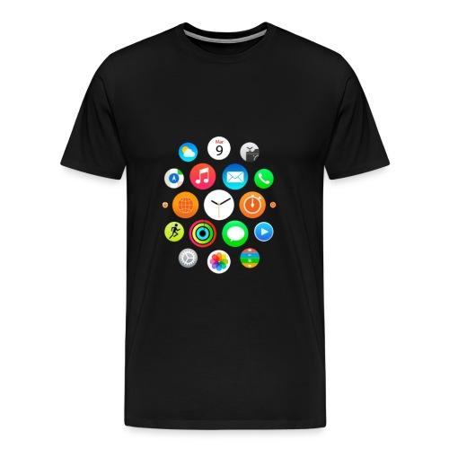 Apple Watch Shirt - Men's Premium T-Shirt