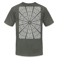 T-Shirts ~ Men's T-Shirt by American Apparel ~ Dome Ceiling 2