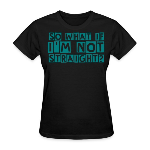 Women's Non-Straight Tee - Women's T-Shirt