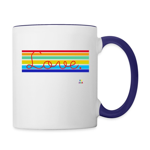 Love - Contrast Coffee Mug