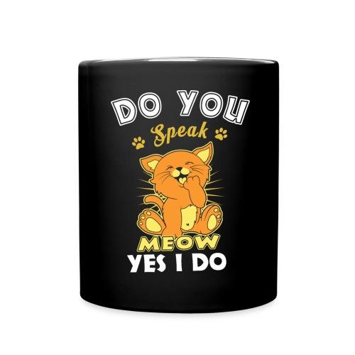 Do You Speak Meow - Full Color Mug