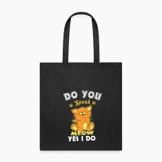 Do You Speak Meow Bags & backpacks