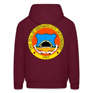 FRONT AND BACK EMBLEM  - Men's Hoodie