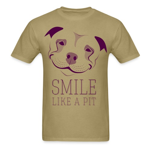 Smile like a pit tee - Men's T-Shirt