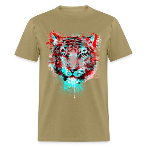 Painted Tiger - Men's T-Shirt
