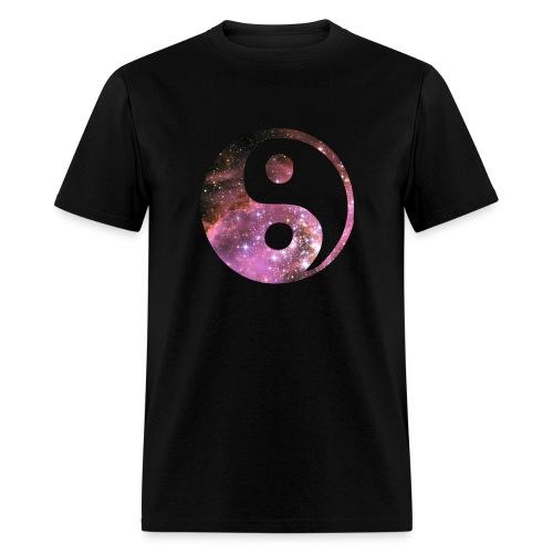 Space Yin Yang shirt - Men's T-Shirt