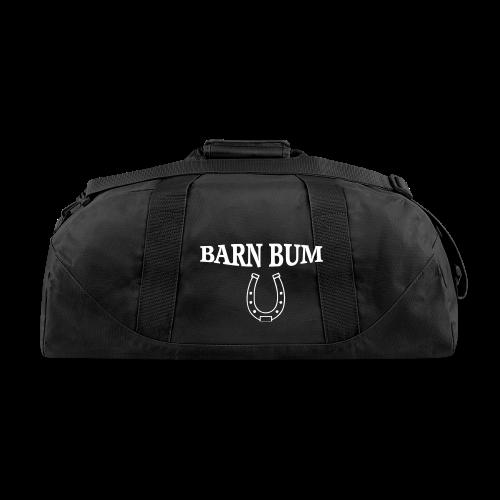 Barn bum horseshoe dulffel tote  - Duffel Bag