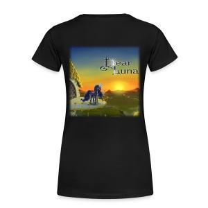 Dear Luna Womens T-Shirt - Women's Premium T-Shirt