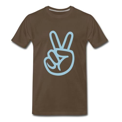 Peace is calm  - Men's Premium T-Shirt