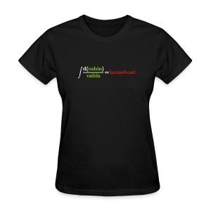 Integral joke - Women's T-Shirt
