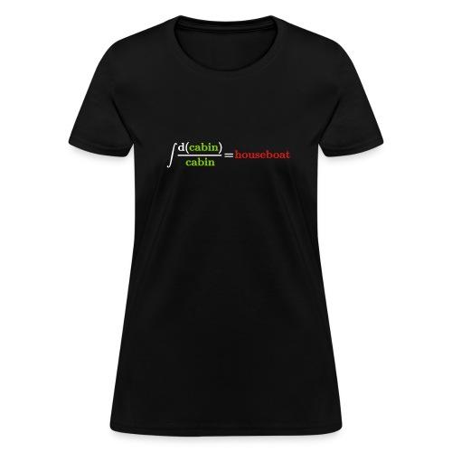 Integral joke - Women's T-Shirt