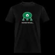 T-Shirts ~ Men's T-Shirt ~ Pi in base 3