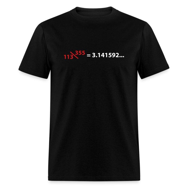 113\355 = pi - Men's T-Shirt