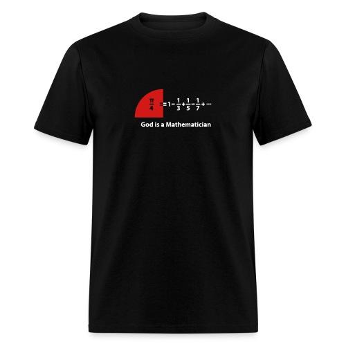 Pi and the Leibniz series - Men's T-Shirt