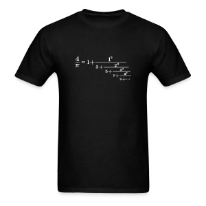 Pi continued fraction - Men's T-Shirt