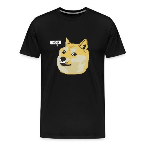 Men's Doge Wow T-Shirt - Men's Premium T-Shirt