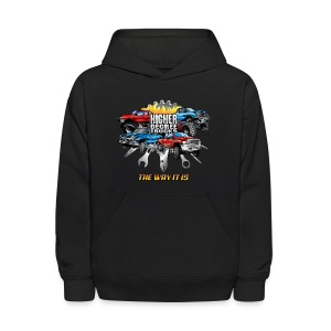 Higher Degree Trucks FRONT - Kids' Hoodie