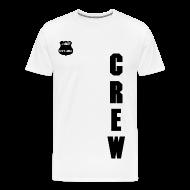 T-Shirts ~ Men's Premium T-Shirt ~ MFX CREW - CML BLACK ON WHITE