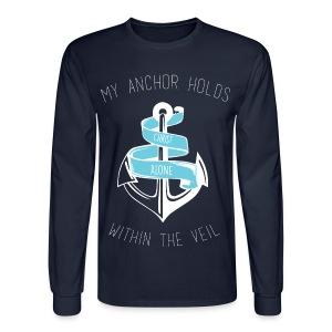 Christian Anchor Long Sleeve Tee - Men's Long Sleeve T-Shirt