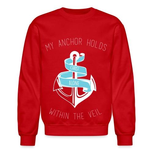 Christian Anchor Sweatshirt - Crewneck Sweatshirt
