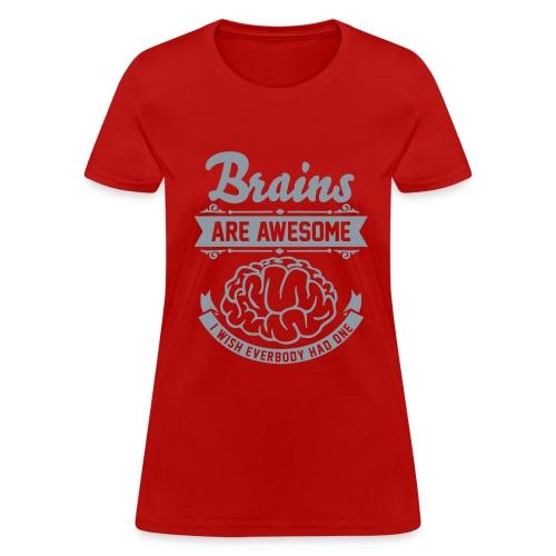 Brains - Women's T-Shirt