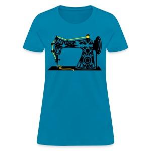 NEW!  Antique Sewing Machine - Women's T-Shirt