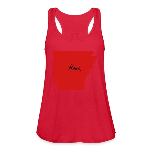 Arkansas Home Tank - Women's Flowy Tank Top by Bella
