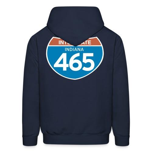 Interstate 465 - Men's Hoodie