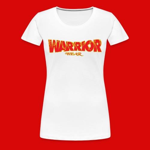 Warrior Wear Lighting Women's Tee - Women's Premium T-Shirt