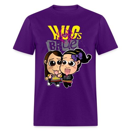 Hugs Bite (Male) - Men's T-Shirt