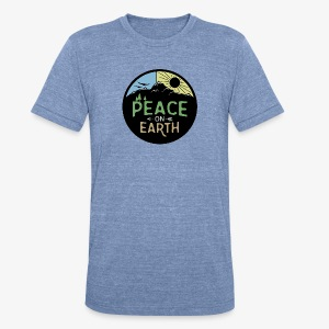 Peace on Earth - Unisex Tri-Blend T-Shirt