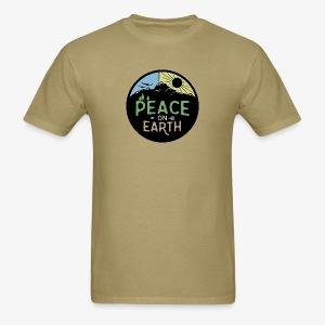Peace on Earth - Men's T-Shirt