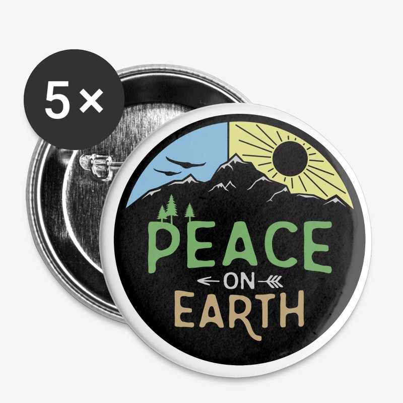 Peace on Earth - Large Buttons