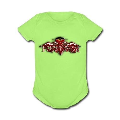 Baby's First Rocking One-Piece - Organic Short Sleeve Baby Bodysuit