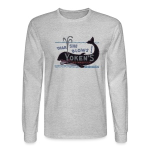Yoken Sports Mouth - Men's Long Sleeve T-Shirt