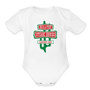 Hilltop Steakhouse - Short Sleeve Baby Bodysuit