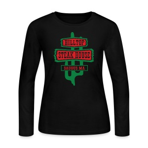 Hilltop Steakhouse - Women's Long Sleeve Jersey T-Shirt
