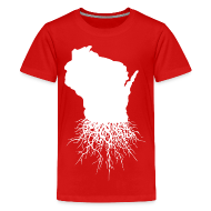 Kids' Shirts ~ Kids' Premium T-Shirt ~ Wisconsin Roots