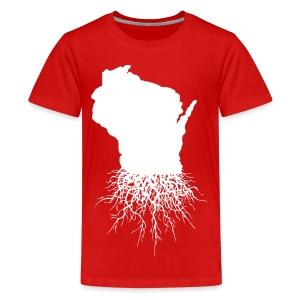 Wisconsin Roots - Kids' Premium T-Shirt