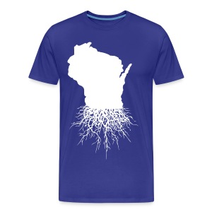 Wisconsin Roots - Men's Premium T-Shirt